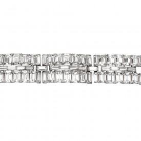 Trifari Red Carpet Bracelet Detail