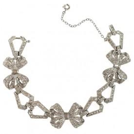 deco bow bracelet