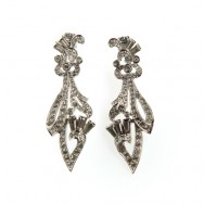 panetta rhinstone earrings