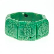 Green bakelite bracelet