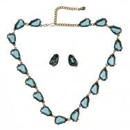 Sphinx Sapphire Necklace set