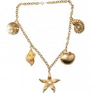 KJL seashell necklace