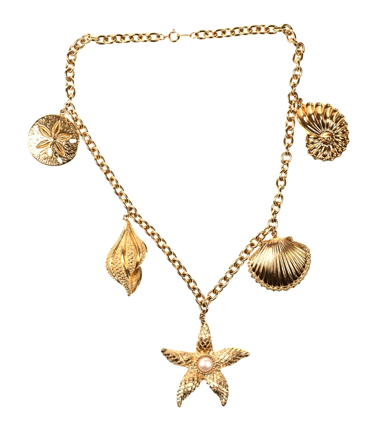 Gold Seashell Jewelry Jewelry Ideas