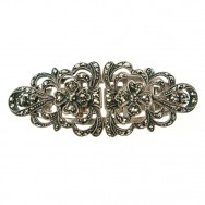 sterling marcasite duette