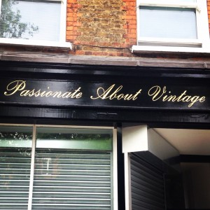 Passionate About Vintage shopfront