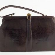 Mappin & Webb Cognac bag