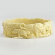 celluloid elephant bangle