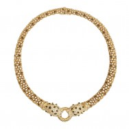 Ciner Leopard Necklace_F
