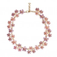 Vintage Christian Dior Floral Necklace_F