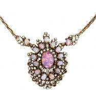 Hollycraft Opal Necklace_D