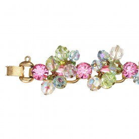 Juliana pastel Swarovski crystal bracelet_D
