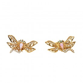 Givenchy dragonfly earrings_F