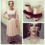 Katherine Ryan wears Passionate About Vintage